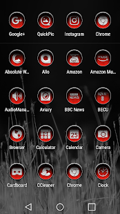 Under Red Icon Pack - náhled