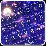 Romantic Moonlight Cherry Rain Keyboard Theme file APK Free for PC, smart TV Download