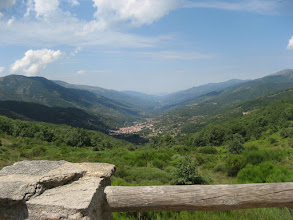 Photo: View from Puerto Castilla (High point on road to Plasencia)