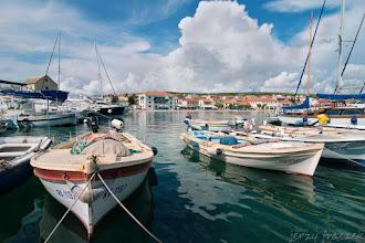 Photo: Przystań jachtowa w Primosten