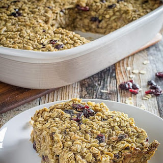 Baked Oatmeal With Cranberries And Walnuts Recipes