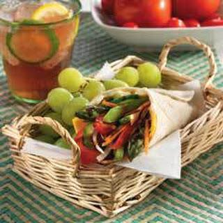 Farmers Market Veggie Wrapwich Recipe