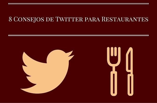 8 consejos para twitter de restaurantes