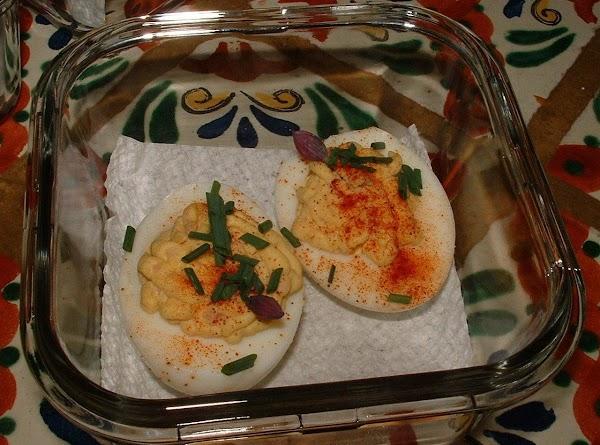 Spring Hill Ranch's Deviled Ham Deviled Eggs Recipe