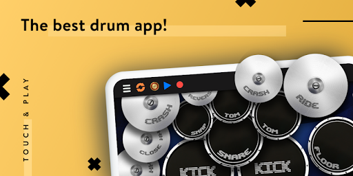 Real Drum - The Best Drums Pads Sim - Get Lessons screenshot 2