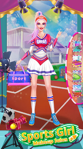ud83dudc67ud83dudc57Sports Girl Makeup - Keep Fit  screenshots 24