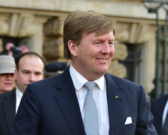 Handeloorloë en Brexit 'n 'winswaarskuwing', sê die Nederlandse koning in die begrotingsrede