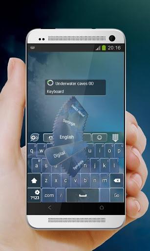 免費下載個人化APP|水下洞穴 GO Keyboard app開箱文|APP開箱王