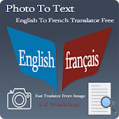 French - English Photo To Text
