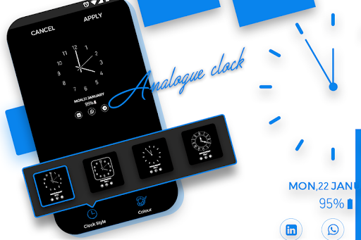 Screenshot for Always on Display - AMOLED Wallpapers in Hong Kong Play Store