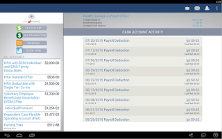 Screenshot of CPA Flex Mobile