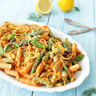 Asparagus & Lima Bean Pasta Salad