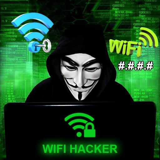 WiFi Hacker Passworld Simulated