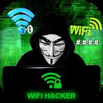 WiFi Hacker Passworld Simulated Icon