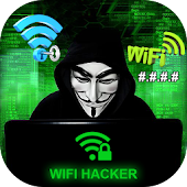 WiFi Hacker Passworld Simulated