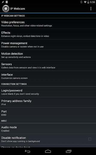 IP Webcam screenshot 7