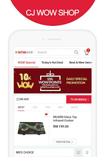 CJ WOW SHOP - Apps on Google Play