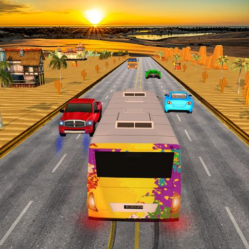 Bus traffic racer : Endless highway racing fever