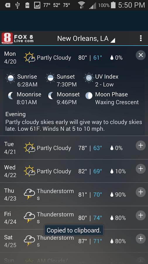 FOX 8 Weather- screenshot