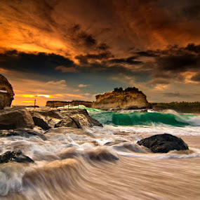 corner of Klayar by Andy R Effendi - Landscapes Waterscapes