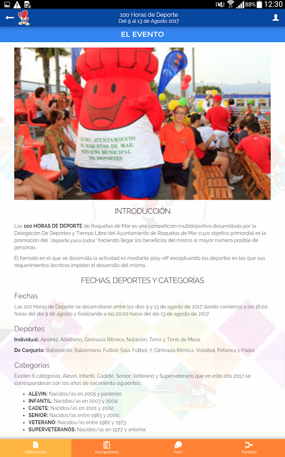 100 Horas de Deporte- screenshot