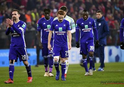 Deux cadres doivent quitter Anderlecht