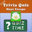 Maze Escape-Trivia games,Quiz games,learning games icon