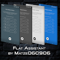 Flat Assistant for KLWP icon