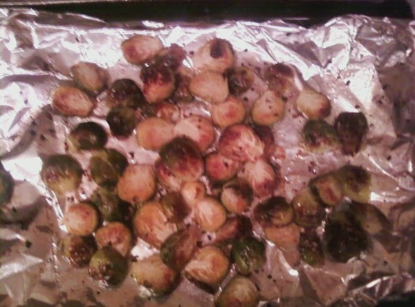 Spread on foil lined (for easy clean up) baking pan. Put in Preheated 400...