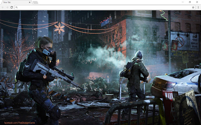 The Division Themes & New Tab
