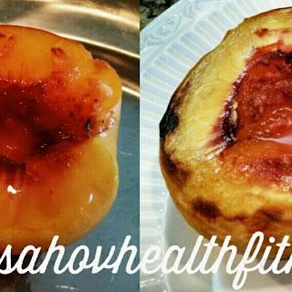 Glazed Peaches.