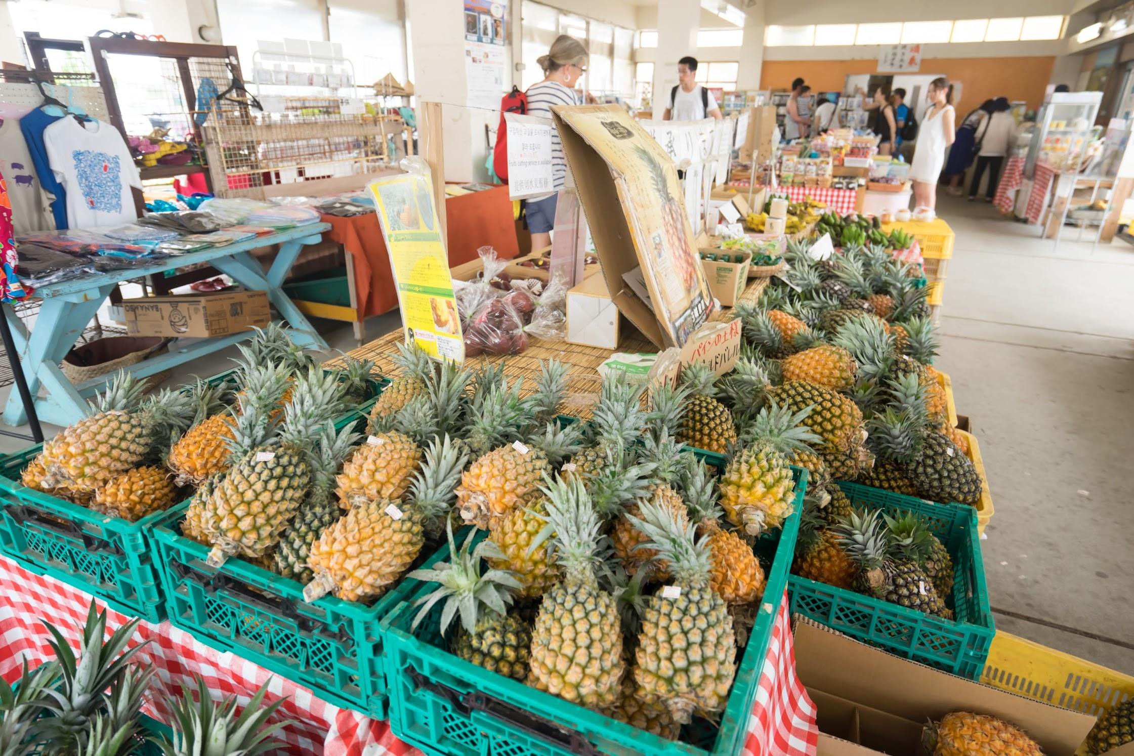 沖縄 古宇利島 市場1
