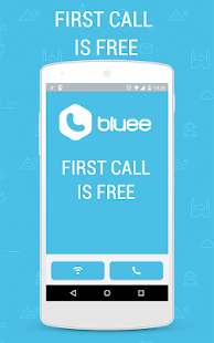 Bluee Free International Calls- screenshot thumbnail