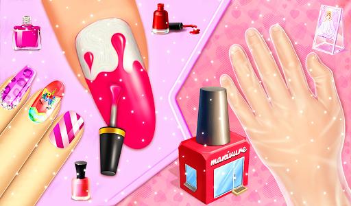 Nail makeup Kit: Fashion doll girls games 2020 apkdebit screenshots 15