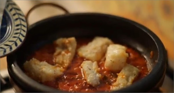 Add the cod, cover and allow to cook for another 5 mins. The cod...