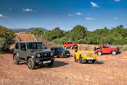 The evolution of the Suzuki Jimny.