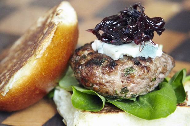 Photo: Lamb Sliders with Red Onion Marmalade:http://www.thedailymeal.com/11-sexy-slider-recipes-slideshow#5