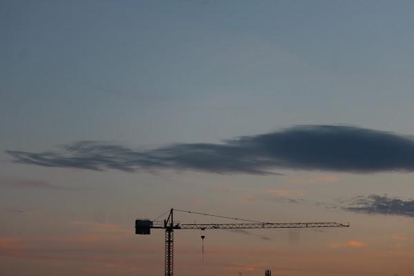 Con la gru fra le nuvole... di davidesquizz00