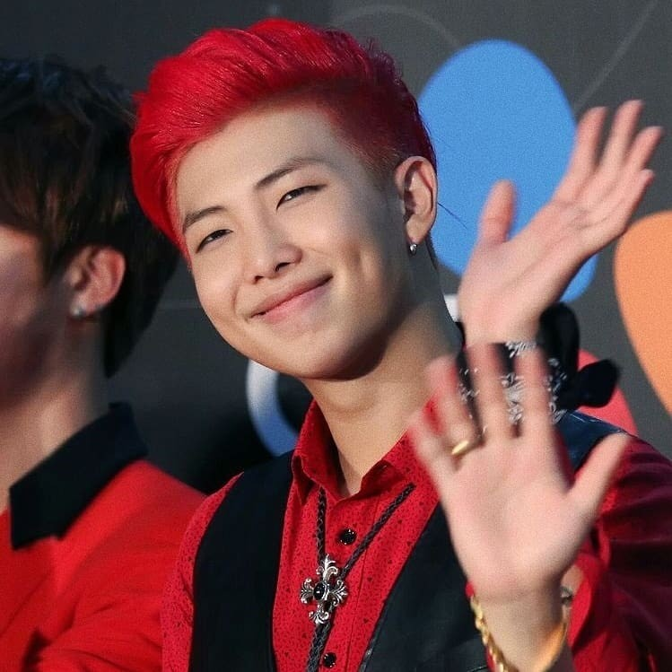 bts rm red