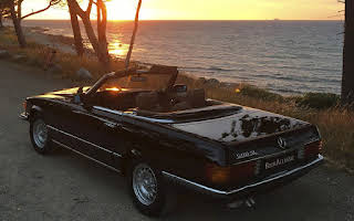 Mercedes-benz 500sl Rent København