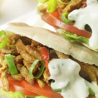 Spicy Chicken Shawarma.