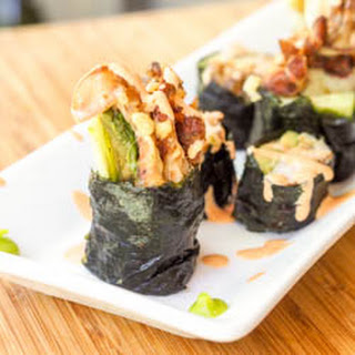 Soft Shell Crab Sushi Rolls {Gluten-Free, Dairy-Free}.