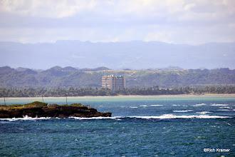Photo: Coming into San Juan, Puerto Rico.