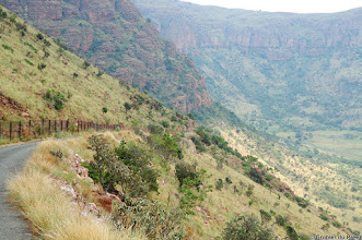 Photo: The road to the mountain viewpoint, Marakele National Park, South Africa.