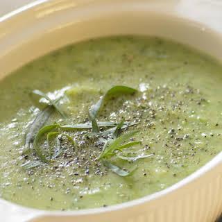 Zucchini and Tarragon Soup.