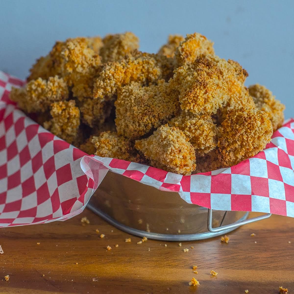 """""""KFC-Style"""" Hi-Protein Popcorn Chicken"""