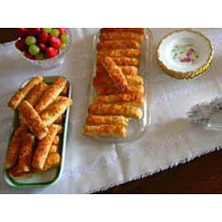 Hungarian Cheese Sticks.