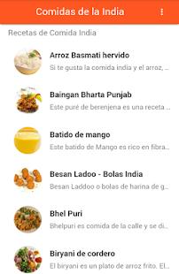 Comida De La India - náhled