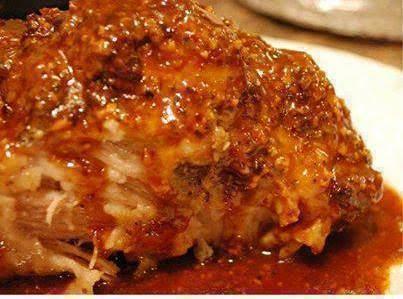 Crock Pot Parmesan Honey Pork Roast!!