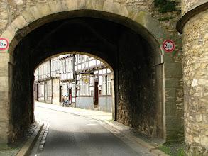 Photo: Przekraczamy mury Goslaru